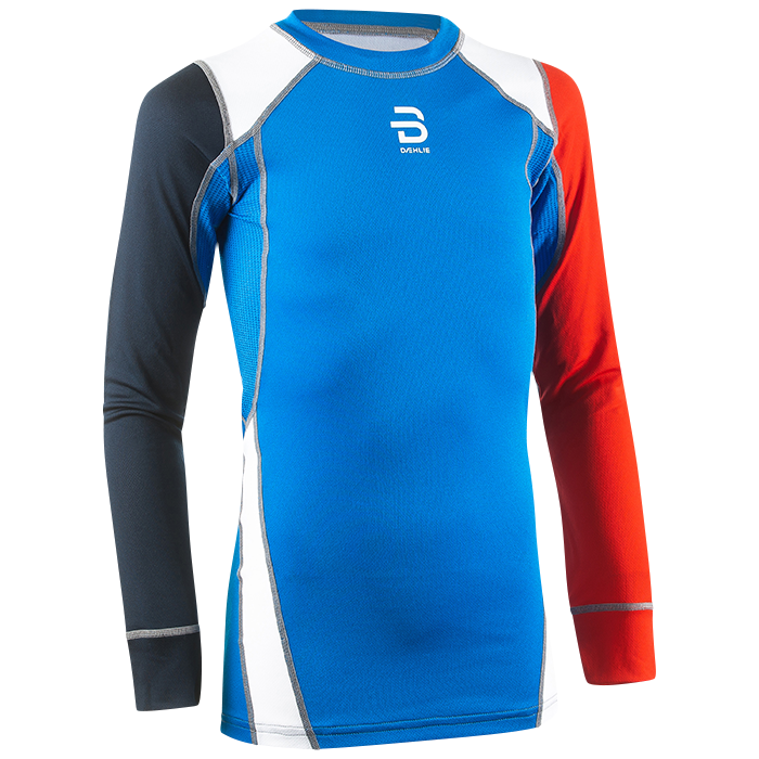 bjørn dæhlie shirt dry ls junior - electric blue lemonade 4fcafa15ef5db