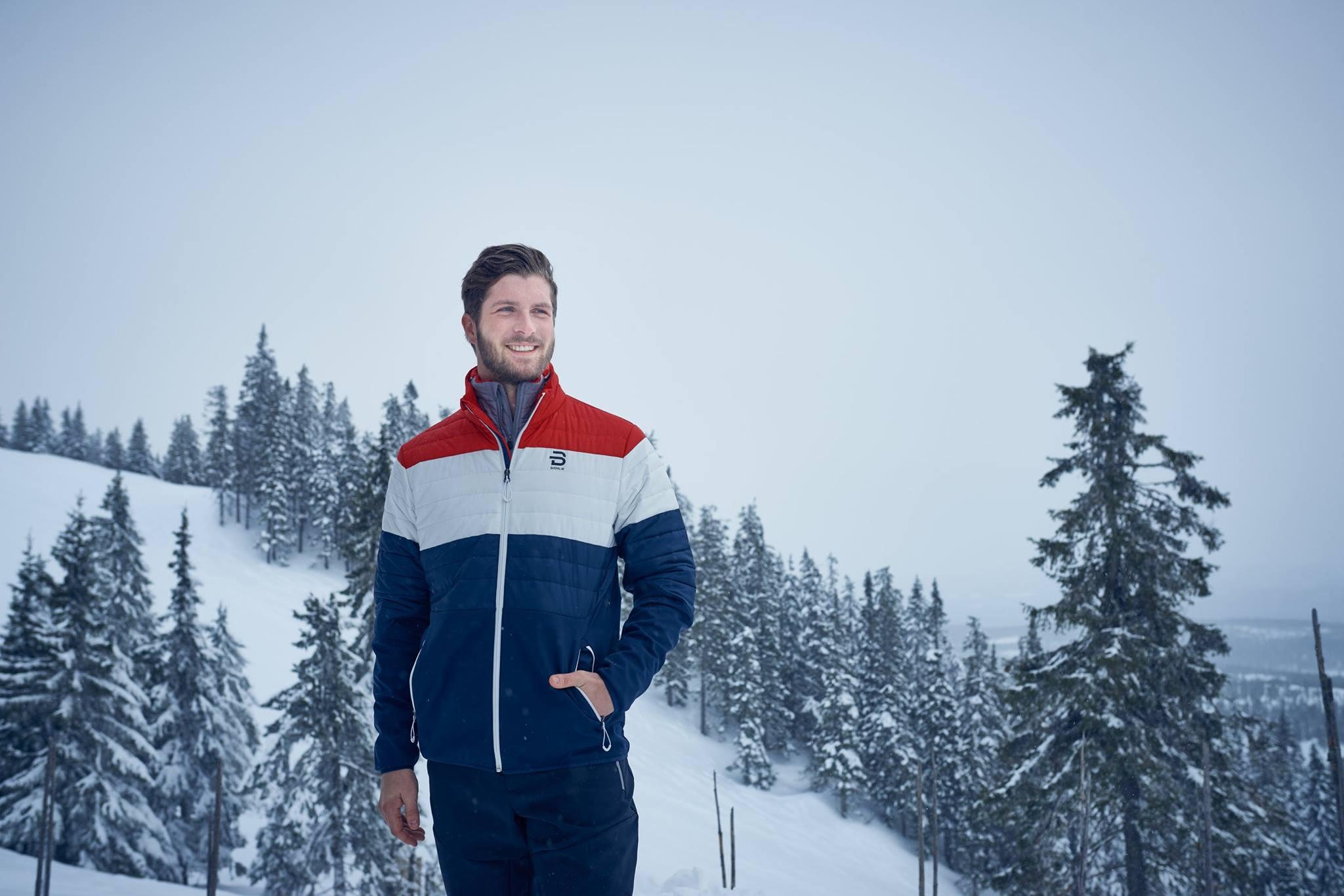 Bjørn Dæhlie Jacket Davos Norwegian Flag | Fjellsport.no
